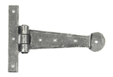 Pewter 6'' Penny End T Hinge (pair) Image 1 Thumbnail