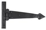Black 6'' Arrow Head T Hinge (pair) Image 1 Thumbnail