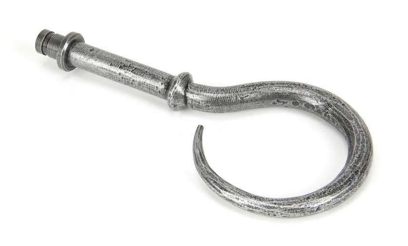 Pewter Hook Curtain Finial (Pair) Image 1