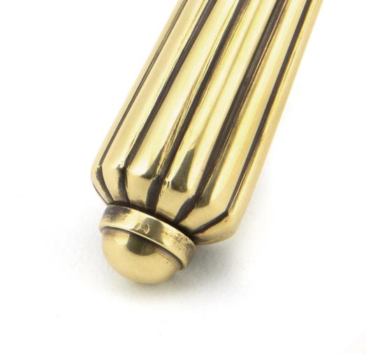 Aged Brass Hinton Lever Lock Set Image 4