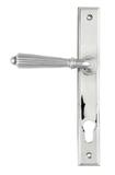 Polished Chrome Hinton Slimline Lever Espag. Lock Set Image 1 Thumbnail