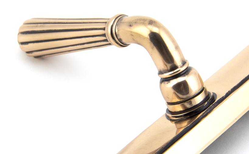 Polished Bronze Hinton Slimline Lever Espag. Lock Set Image 5