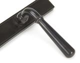 Aged Bronze Newbury Slimline Lever Latch Set Image 4 Thumbnail
