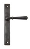 Aged Bronze Newbury Slimline Lever Latch Set Image 1 Thumbnail
