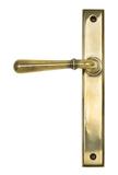 Aged Brass Newbury Slimline Lever Latch Set Image 1 Thumbnail
