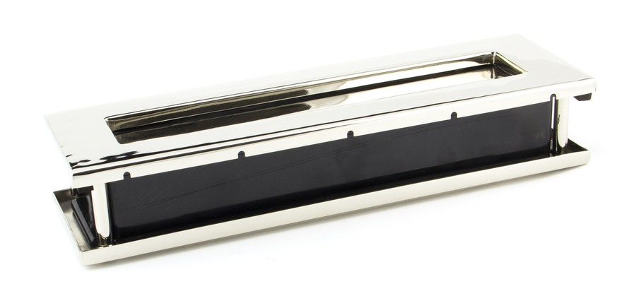 Polished Nickel Traditional Letterbox Image 2