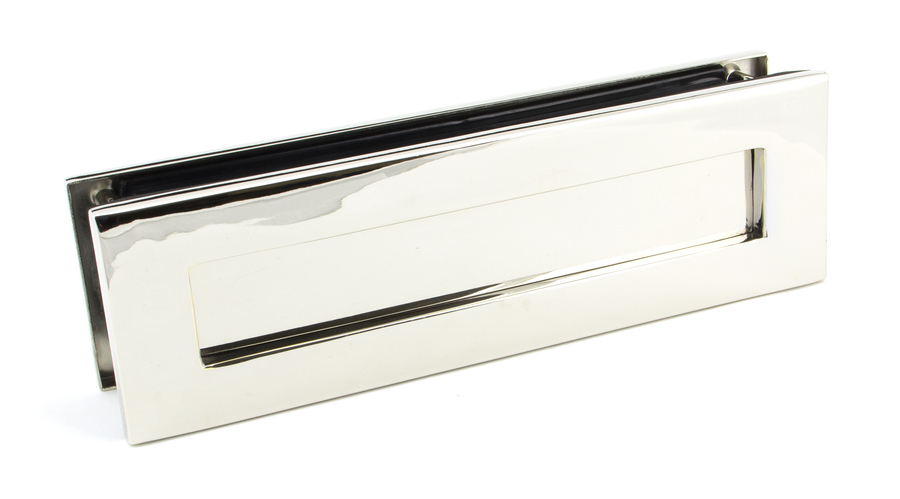 Polished Nickel Traditional Letterbox Image 1