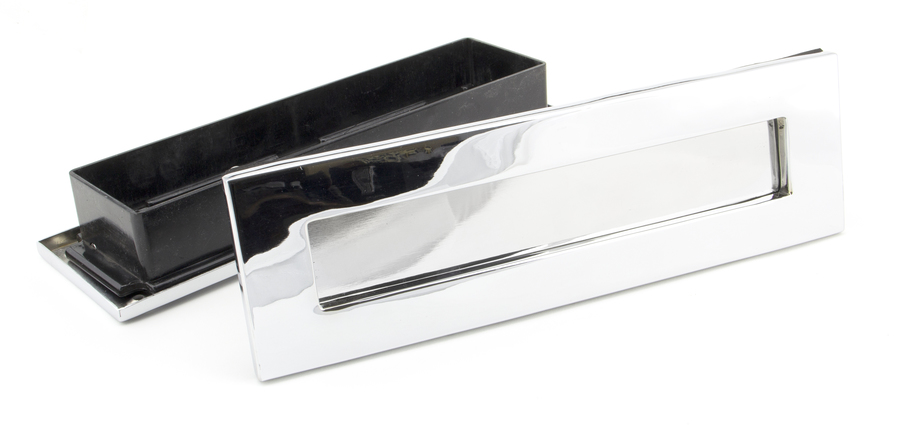 Polished Chrome Traditional Letterbox Image 4