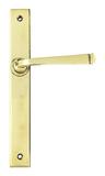 Aged Brass Avon Slimline Lever Latch Set Image 1 Thumbnail