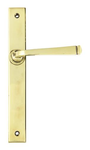Aged Brass Avon Slimline Lever Latch Set Image 1