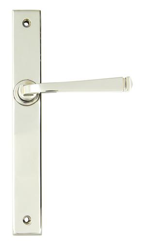 Polished Nickel Avon Slimline Lever Latch Set Image 1