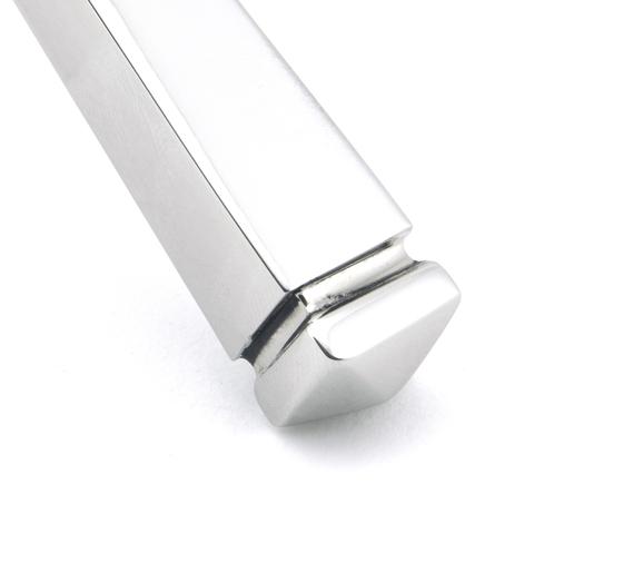 Polished Chrome Avon Slimline Lever Latch Set Image 5