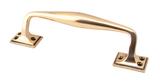 Polished Bronze 230mm Art Deco Pull Handle Image 1 Thumbnail
