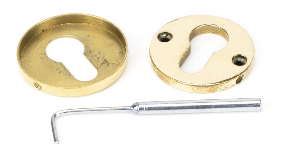 Aged Brass 52mm Regency Concealed Escutcheon Image 3