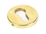 Aged Brass 52mm Regency Concealed Escutcheon Image 1 Thumbnail