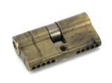 Aged Brass 30/30 5pin Euro Cylinder KA Image 1 Thumbnail