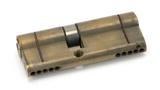 Aged Brass 35/45 5pin Euro Cylinder KA Image 1 Thumbnail