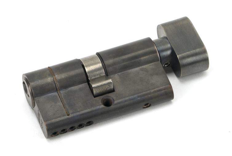 Aged Bronze 30/30 5pin Euro Cylinder/Thumbturn Image 1