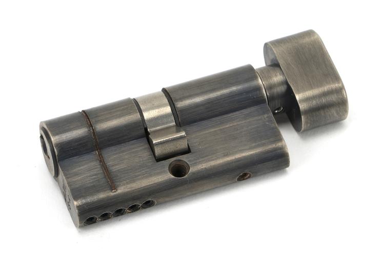 Pewter 30/30 5pin Euro Cylinder/Thumbturn Image 1