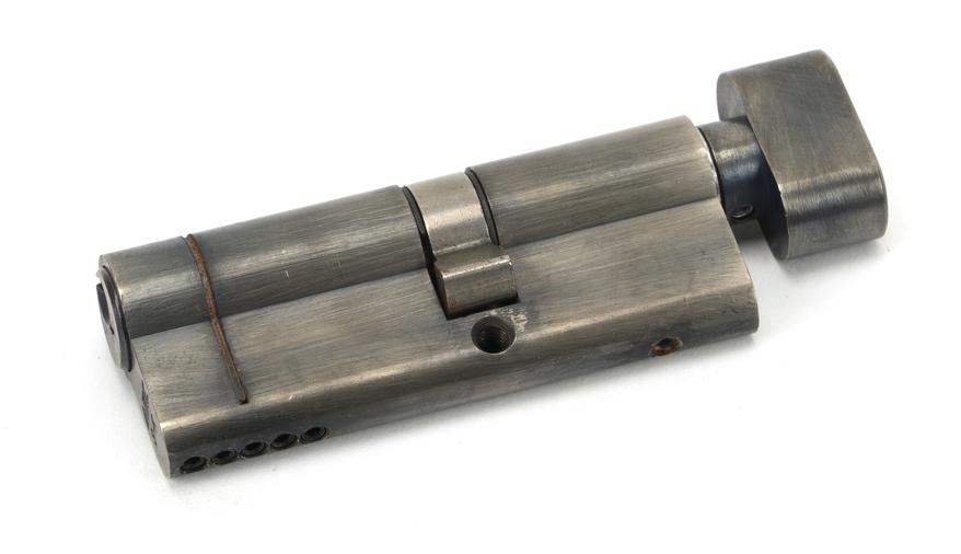 Pewter 35T/45 5pin Euro Cylinder/Thumbturn Image 1