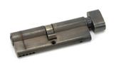 Pewter 45/45 5pin Euro Cylinder/Thumbturn Image 1 Thumbnail