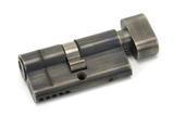 Pewter 30/30 5pin Euro Cylinder/Thumbturn KA Image 1 Thumbnail