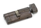 Aged Bronze 35/35 5pin Euro Cylinder/Thumbturn KA Image 1 Thumbnail