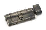 Pewter 35/35 5pin Euro Cylinder/Thumbturn KA Image 1 Thumbnail