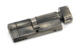 Pewter 40/40 5pin Euro Cylinder/Thumbturn KA Image 1 Thumbnail