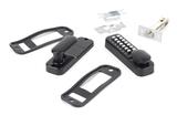 Black Digital Keypad Lock + 60mm Backset Latch Bolt Image 2 Thumbnail