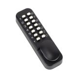 Black Digital Keypad Lock + 60mm Backset Latch Bolt Image 1 Thumbnail