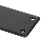 Black 1800mm Plain Fingerplate Image 1 Thumbnail