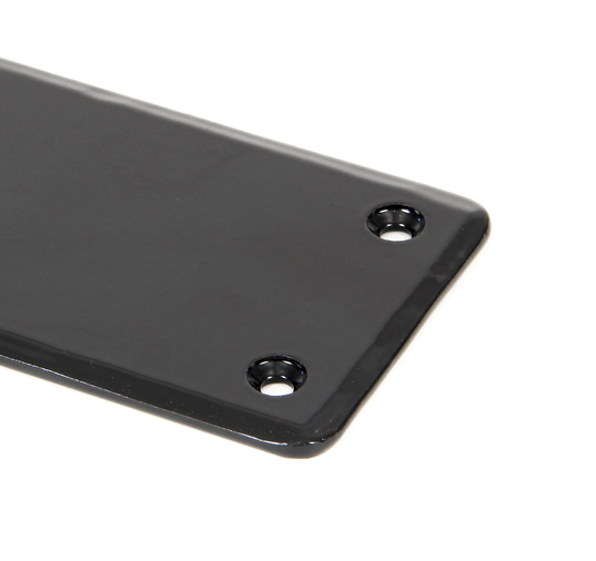 Black 1800mm Plain Fingerplate Image 1