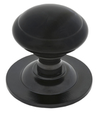 Black Round Centre Door Knob Image 1 Thumbnail