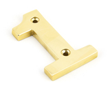 Polished Brass Numeral 1 Image 1 Thumbnail