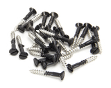 Black SS 3.5 x 25 Csk R/ Head Screws (25) Image 1 Thumbnail