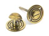 Aged Brass Round Bathroom Thumbturn Image 1 Thumbnail