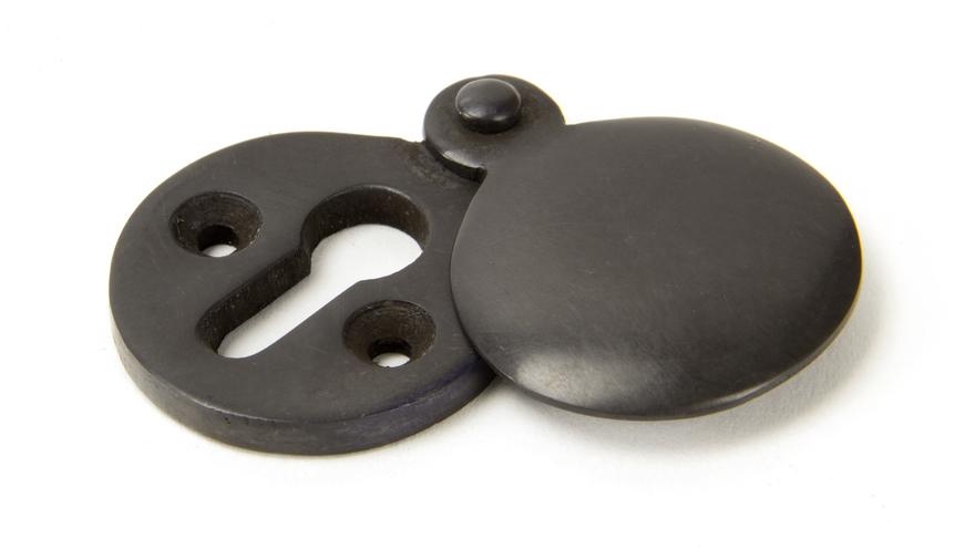 Aged Bronze 30mm Round Escutcheon Image 1