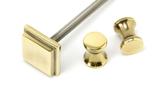 Aged Brass Slimline Art Deco Door Knocker Image 7 Thumbnail