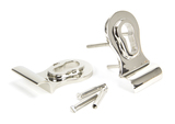 Polished Nickel 50mm Euro Door Pull (Back to Back fixings) Image 3 Thumbnail