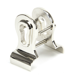 Polished Nickel 50mm Euro Door Pull (Back to Back fixings) Image 1 Thumbnail