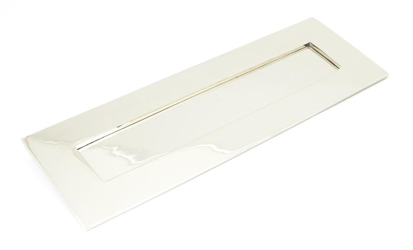 Polished Nickel Large Letter Plate Image 1