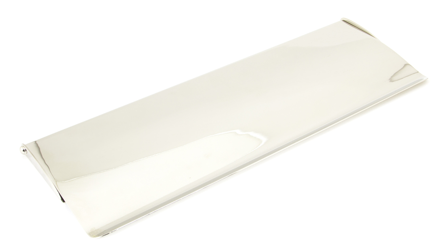 Polished Nickel Large Letter Plate Cover Image 1