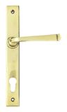 Aged Brass Avon Slimline Lever Espag. Lock Set Image 1 Thumbnail
