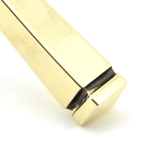 Aged Brass Avon Lever Lock Set Image 4