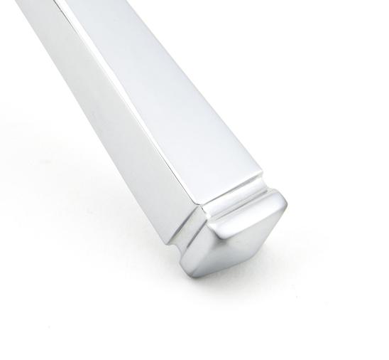Polished Chrome Avon Lever Latch Set Image 4