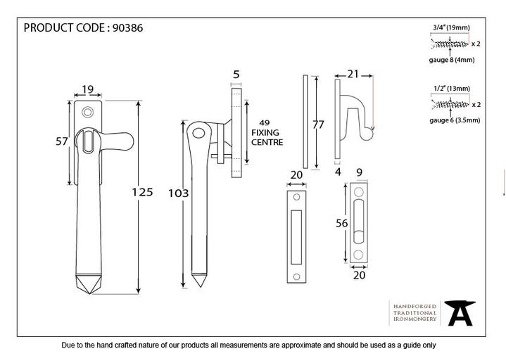 Beeswax Locking Avon Fastener Image 2