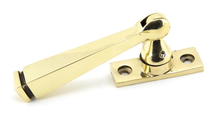Aged Brass Locking Avon Fastener Image 2