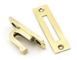 Aged Brass Locking Avon Fastener Image 4 Thumbnail