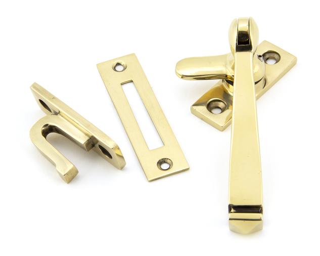 Aged Brass Locking Avon Fastener Image 1